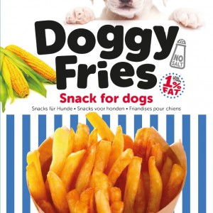 Doggyfries Hondenpatat